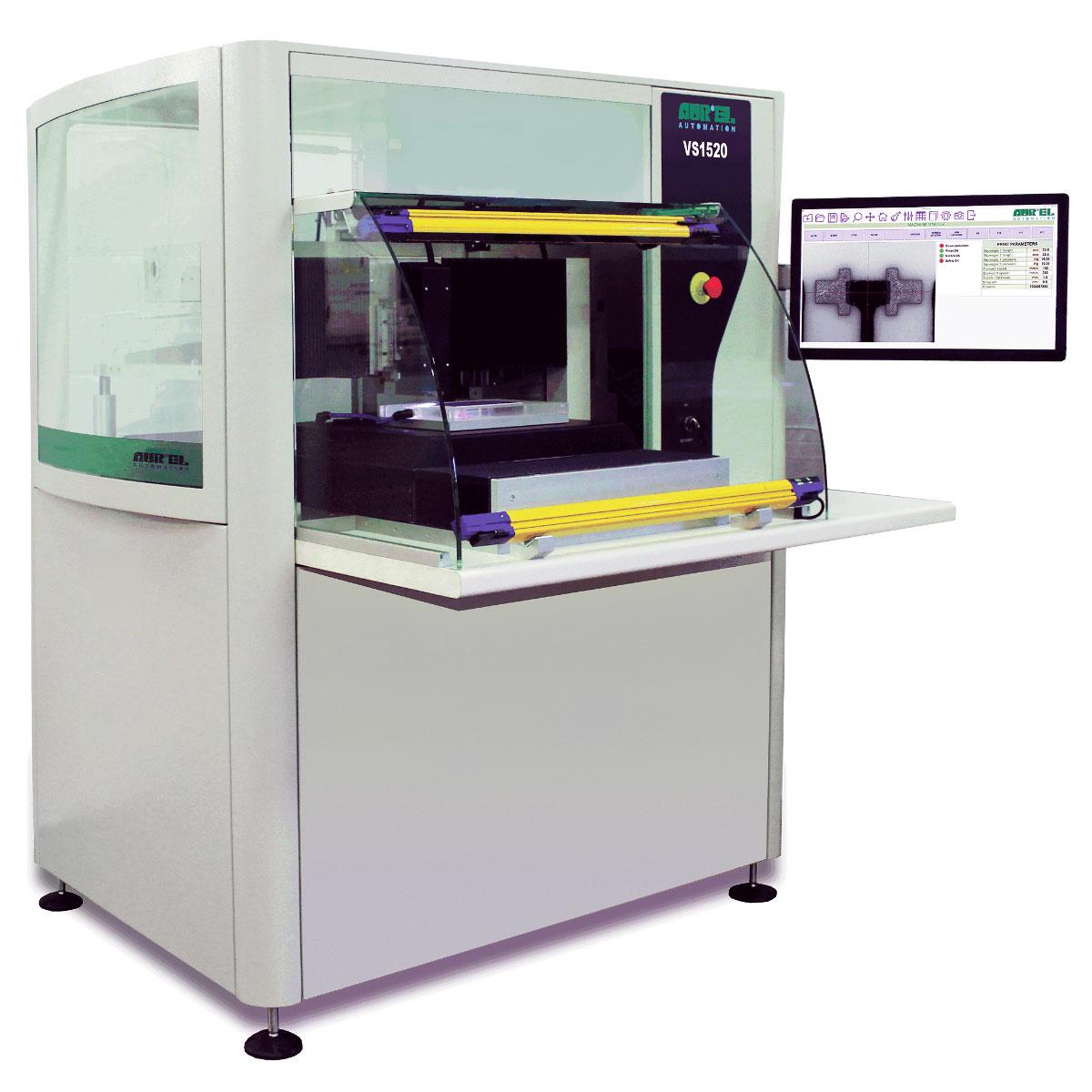 AUREL VS 1520 ꜛ принтер полуавтоматической трафаретной печати