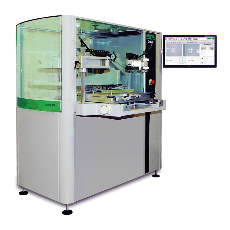 AUREL C 920 ꜛ принтер полуавтоматической трафаретной печати