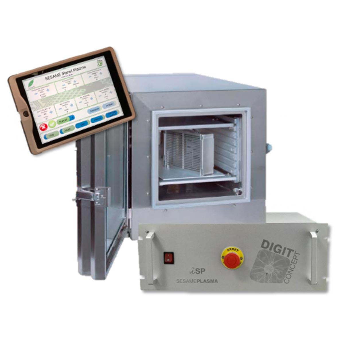 Установка плазменной очистки ꜛ iSP 330 DIGIT CONCEPT