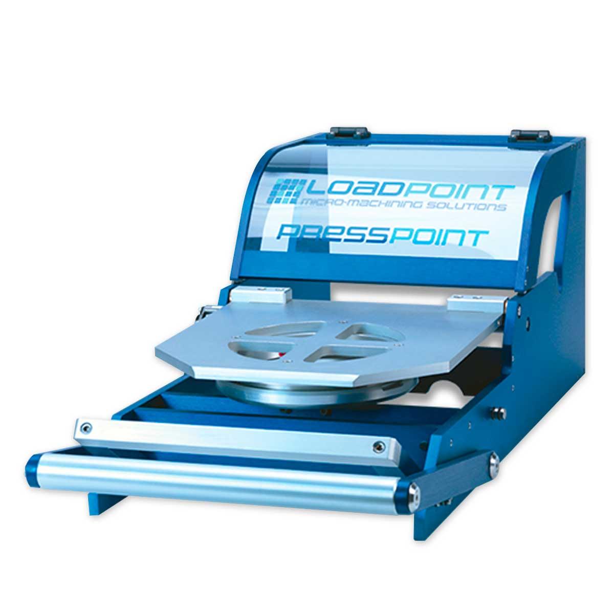 Установка дисковой резки пластин ꜛ LOADPOINT Presspoint