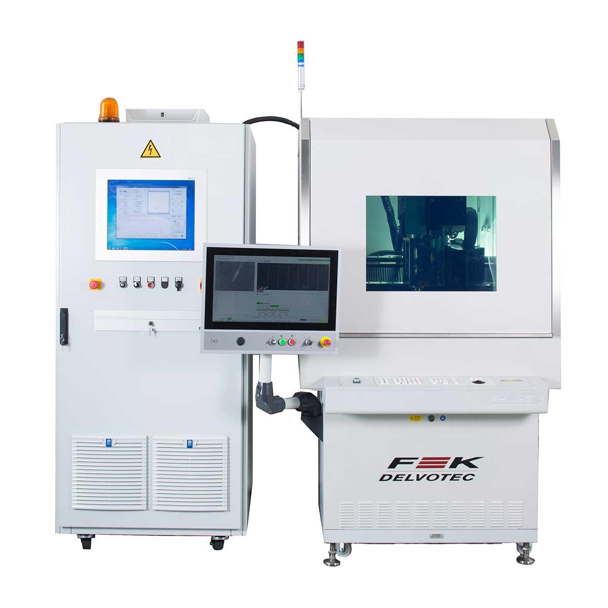 Автомат лазерной сварки выводов ꜛ F&K DELVOTEC M17 LSB