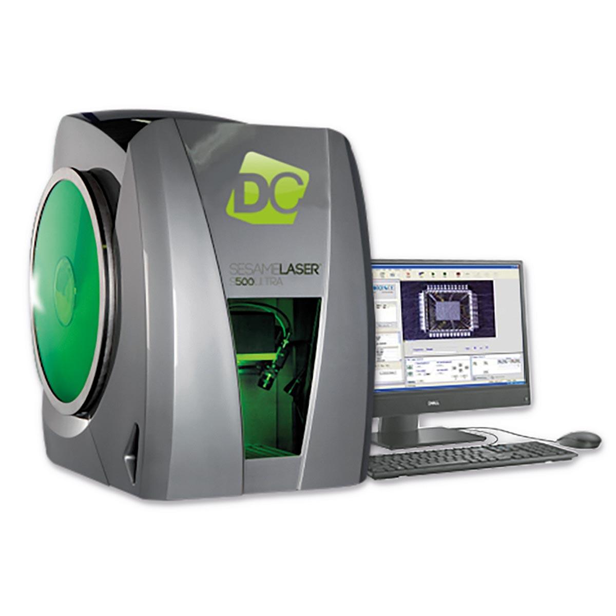 Установка лазерного декапсулирования ꜛ SLP 500DC DIGIT CONCEPT