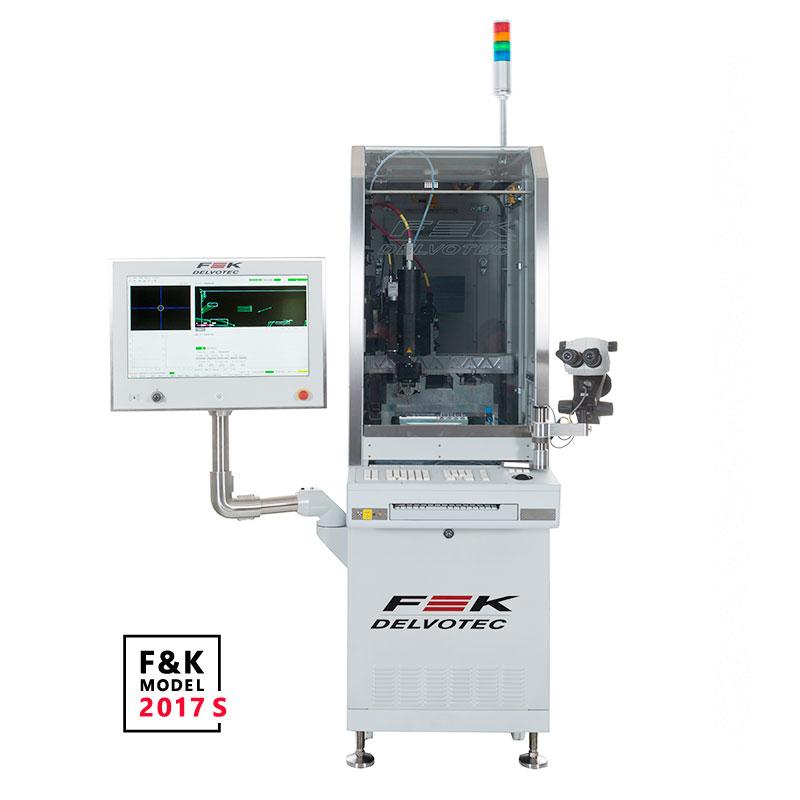 Автомат ультразвуковой микросварки ꜛ F&K DELVOTEC M17