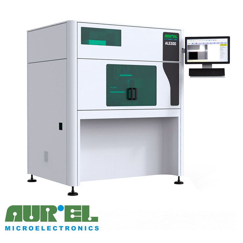 Установка лазерной подгонки резисторов ꜛ AUREL ALS300L YAG