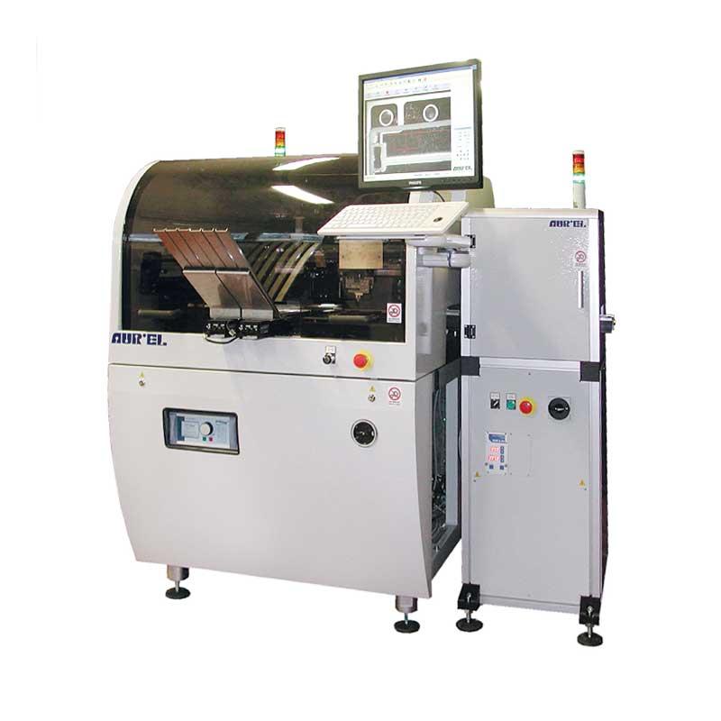 AUREL XCEL ꜛ установка оптической 2D-инспекции качества трафаретной печати