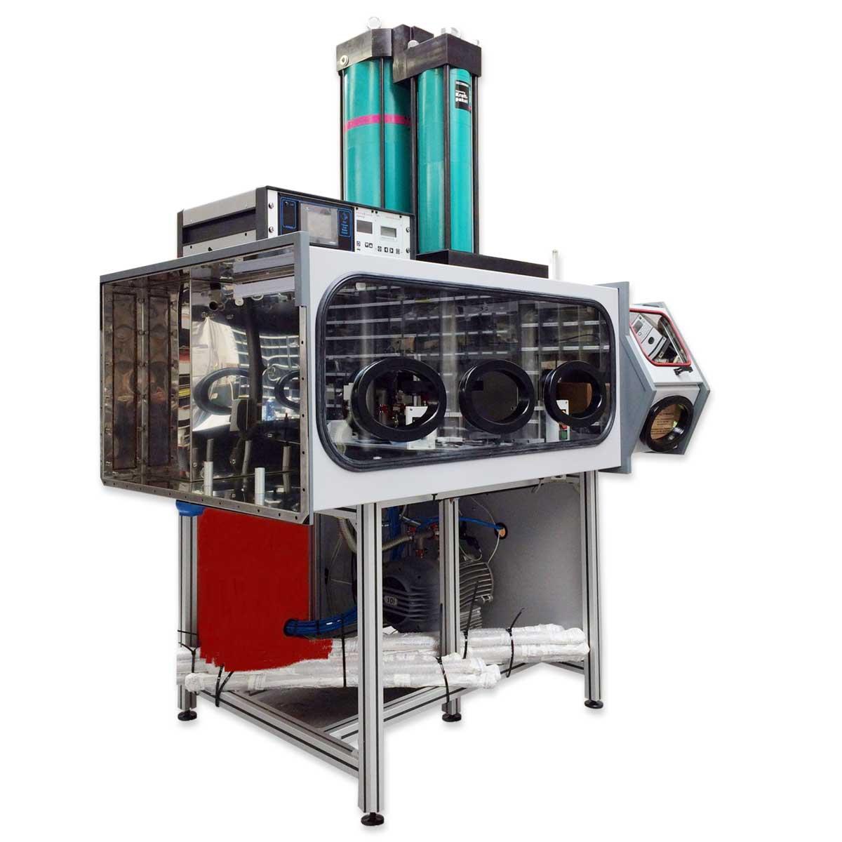 Установка герметизации холодной сваркой ꜛ Pyramid CWP
