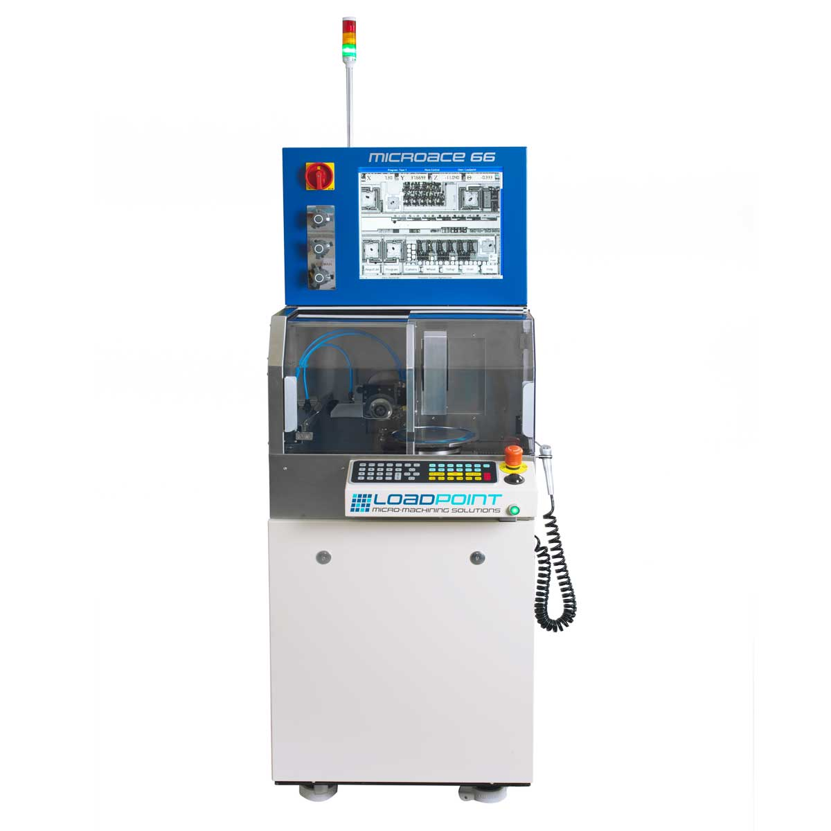 Установка дисковой резки пластин ꜛ LOADPOINT MicroAce 66